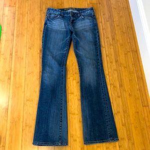 EXPRESS stella boot cut jeans sz 21